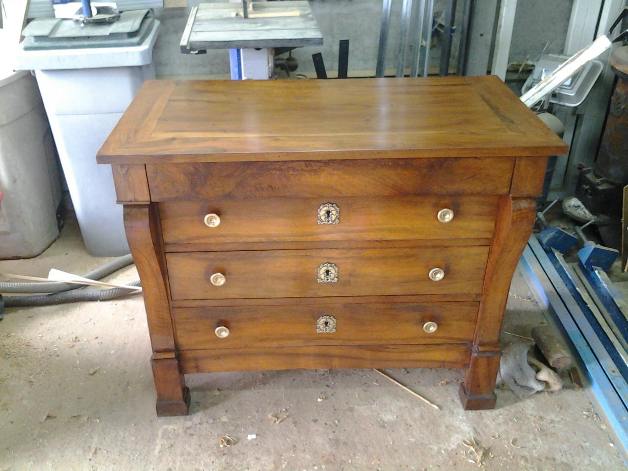 Commode époque  Restauration