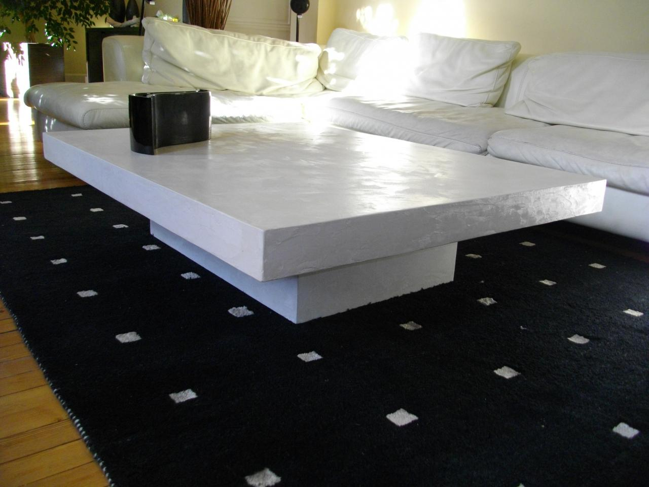grande table basse. Black Bedroom Furniture Sets. Home Design Ideas